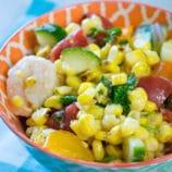 Grilled Corn and Shrimp Salad Recipe