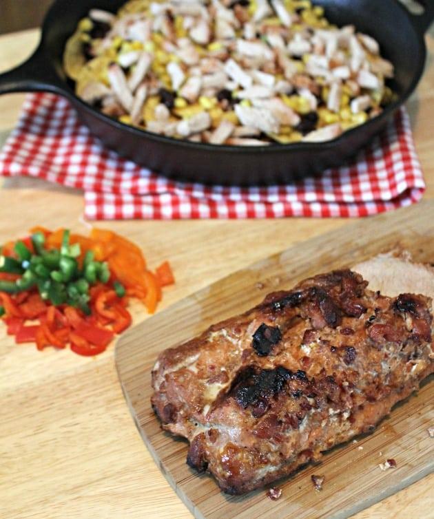 Loaded Grilled Pork Nachos 2