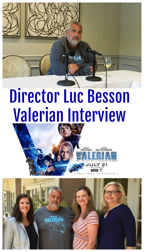 Director Luc Besson Valerian Interview - A Blogger Exclusive