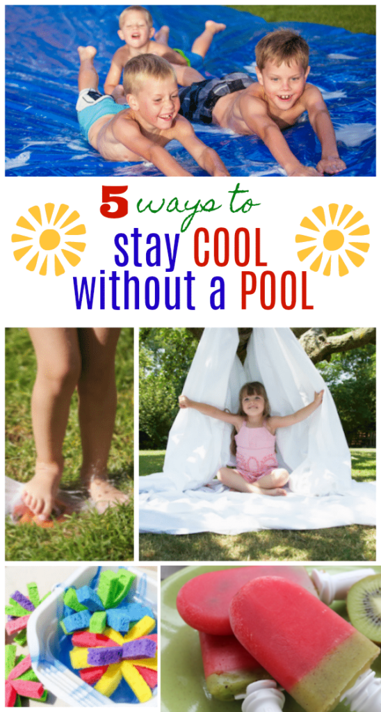 5 Ways to Stay Cool Without a Pool