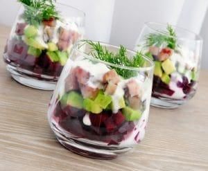 Hearty Avocado and Turkey Salad with Greek Dressing Recipe
