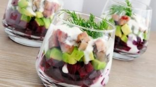 Hearty Avocado & Turkey Salad with Greek Dressing
