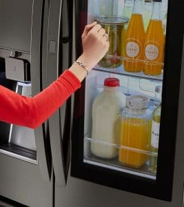 LG InstaView Door-in-Door Refrigerator – Keep the Cold Air In!