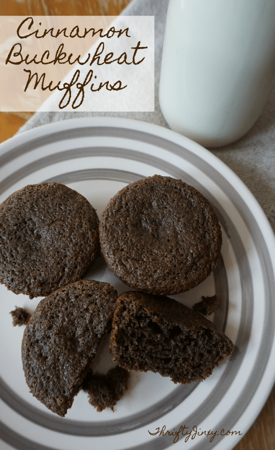 This Cinnamon Buckwheat Muffin Recipe makes a delicious, gluten-free breakfast or snack. It tastes great with a big glass of milk!