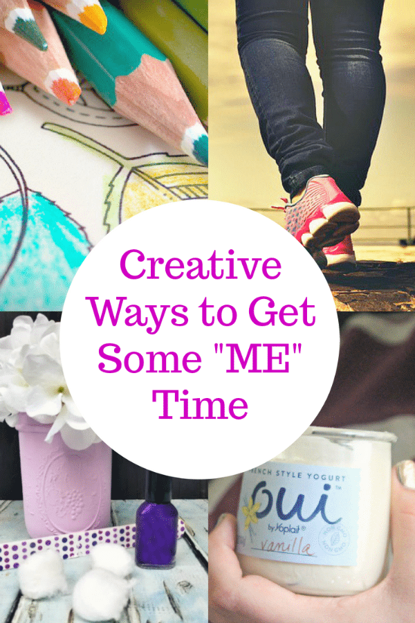 "If you are crazy busy like me, and I bet you are, it takes ingenuity to squeeze in a few minutes we can claim for ourselves. You need to find creative ways to get some ""me"" time. #ad"