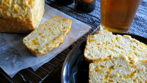 Super Easy Cheddar Beer Bread Recipe