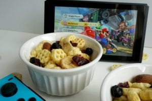 Honeycomb Snack Mix Recipe – Enter for a Chance to Win a Nintendo Switch