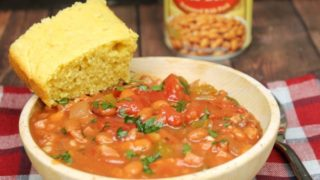 Crockpot Pinto Beans and Ham