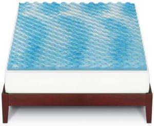 Kohl's: Gel Memory Foam Mattress Topper for $30 – Get a Cool Night's Sleep!