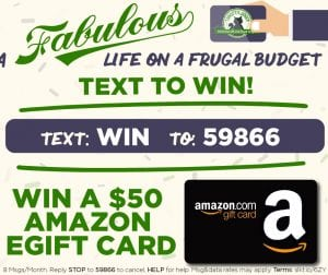 How Text2Save Works + Enter to Win a $50 Amazon Gift Card!