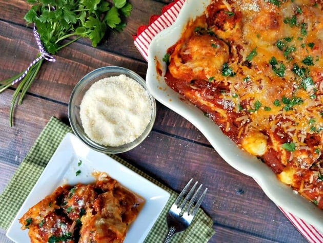 Italian Meatball And Biscuit Casserole Bake 3
