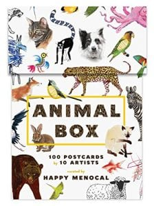 Amazon: Get a Box of 100 Animal Postcards for $5!