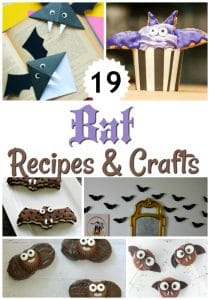 20+ Bat Recipes & Crafts for a FUN Halloween