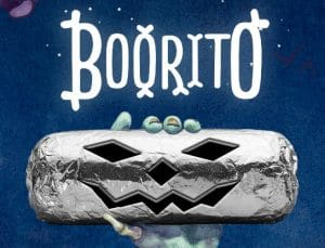 $3 Burritos at Chipotle on Halloween – Dress in Costume