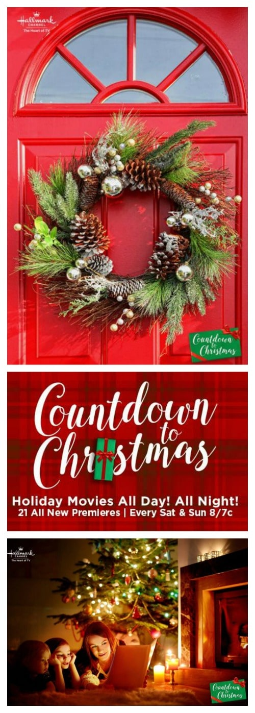 Hallmark Countdown to Christmas Movie Schedule 2017