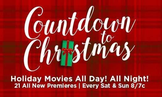 hallmark countdown to christmas schedule 2017 - Countdown To Christmas