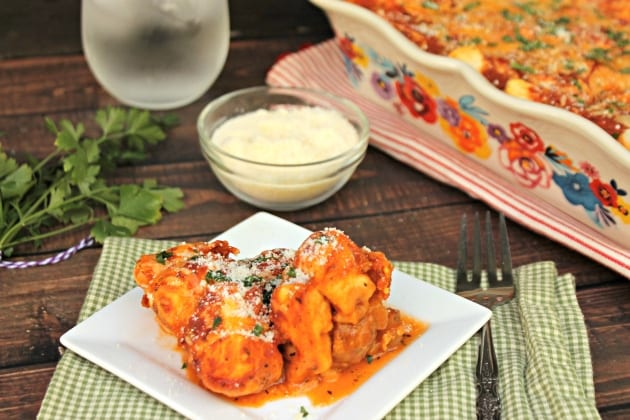 Italian Meatball And Biscuit Casserole Bake