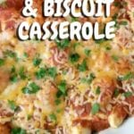 Italian Meatball And Biscuit Casserole