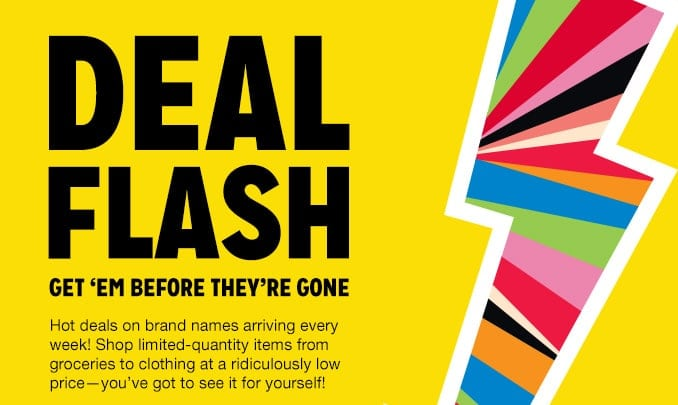 Kmart deal flash what will you find reader giveaway thrifty save reheart Image collections