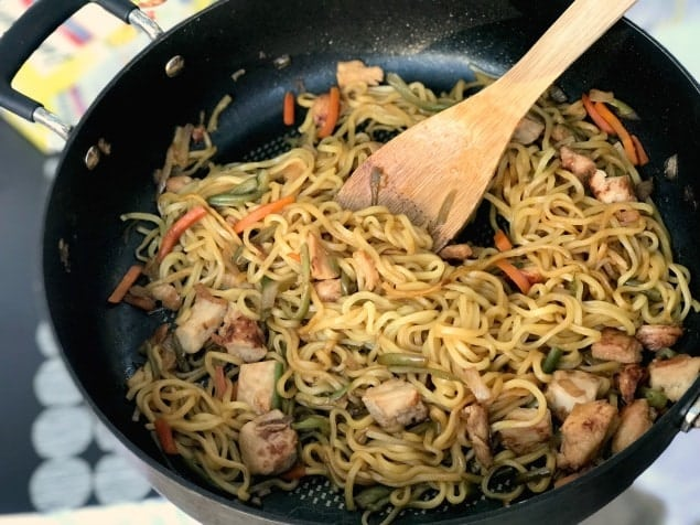 Enjoy japanese food at home with ling ling fried rice and noodles save forumfinder Choice Image