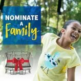 Nominate a Deserving Family To Win A Springfree Trampoline