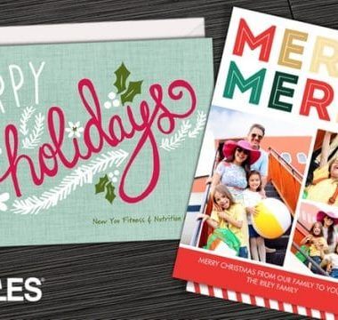 c56b3062f412 Custom Holiday Cards or Invitations from 23¢ Each at Staples – Get a Jump  on the Holidays!