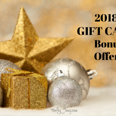 Gift Card Bonus Offers - Restaurants and Retail