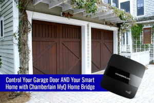 Control Your Garage Door and Your Smart Home – Chamberlain MyQ® Home Bridge