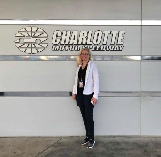 Chrysa Duran at Charlotte Motor Speedway