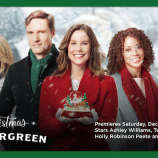 "Hallmark Channel's ""Christmas in Evergreen"" Premiering this Saturday, Dec 2nd at 8pm/7c! #ChristmasInEvergreen"