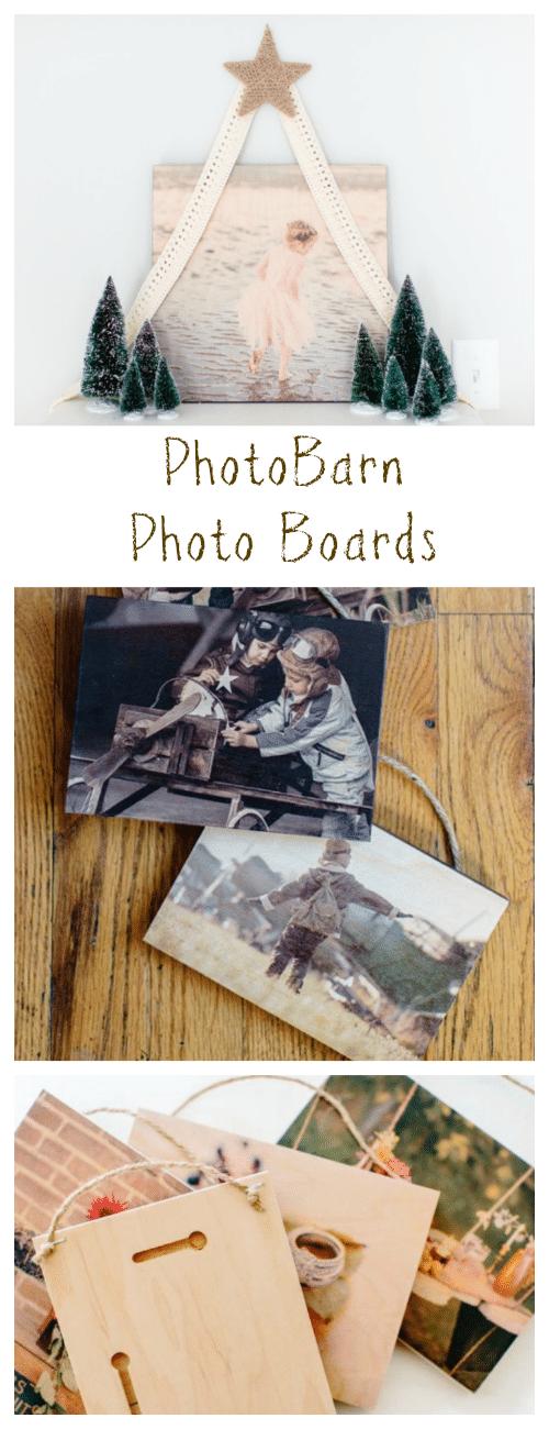 PhotoBarn Photo Boards make beautiful keepsakes and thoughtful gifts. #GiftIdeas #PhotoGifts #photos