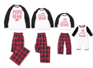 Matching Family Pajamas for Mom, Dad, Kids and Baby