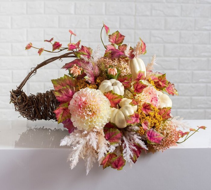 Thanksgiving Mixed Centerpiece Basket