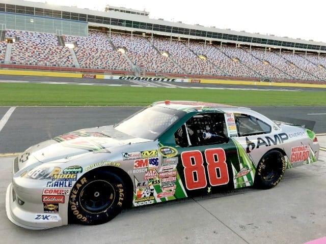 #88 Car at Charlotte Motor Speedway