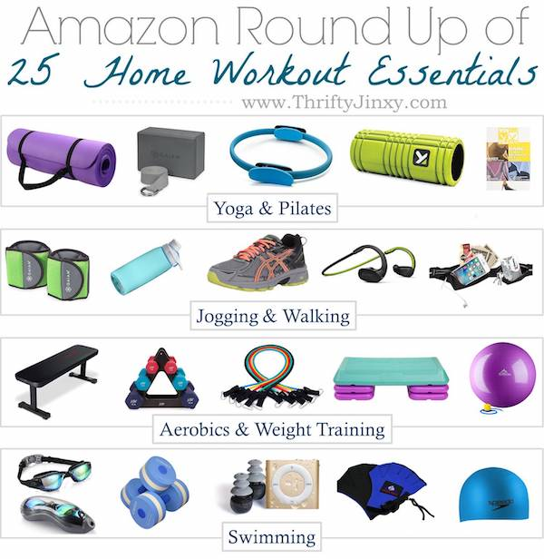 essential home workout equipment get fit at home thrifty jinxy