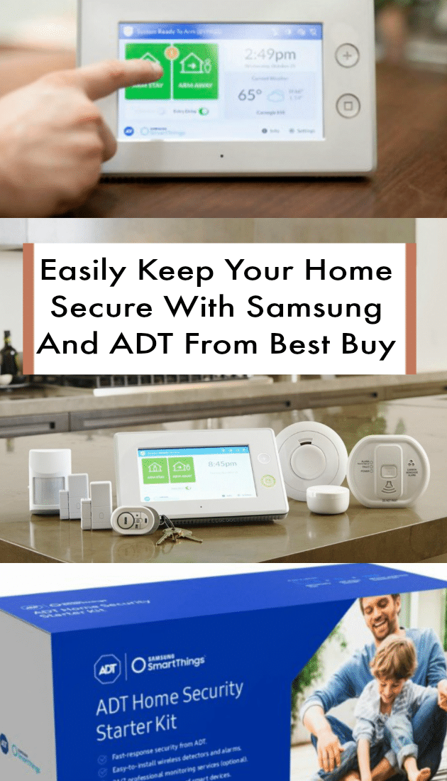 Easily Keep Your Home Secure With Samsung And ADT From Best Buy pin