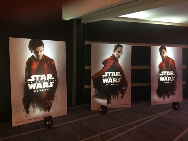 Star wars the last jedi press junket experience as awesome as you save ccuart Image collections