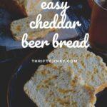 easy cheddar beer bread