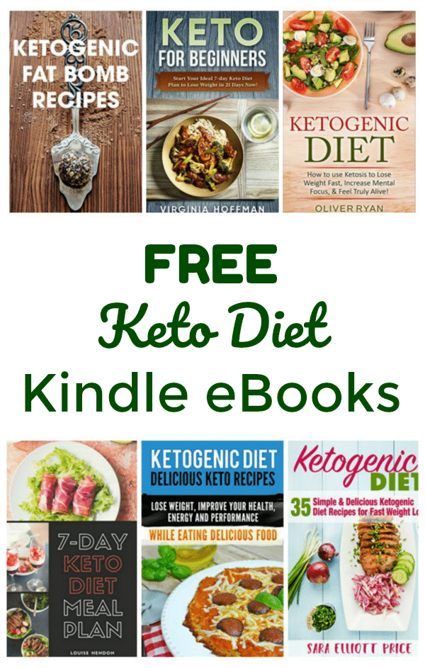 Amazon: Lots of FREE Keto Diet Kindle eBooks - Thrifty Jinxy