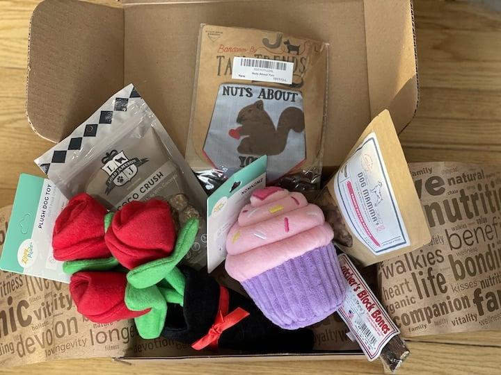 Wagwell Valentine Box