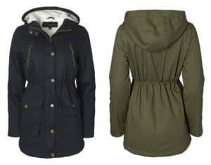 Women's Cotton Twill Anorak Coat, Just $19 (Reg. $50)!