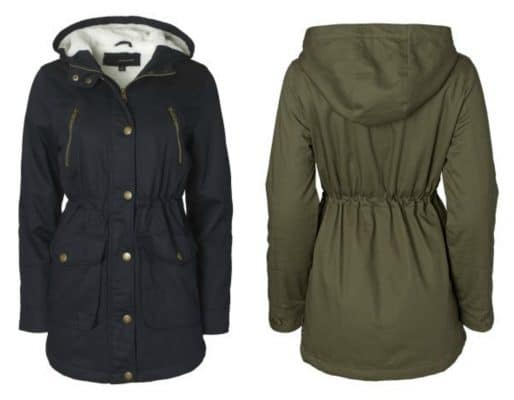 Women's Cotton Twill Anorak Coat