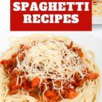 Amazing Spaghetti Recipes