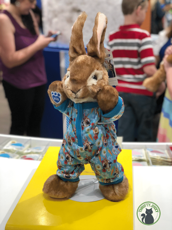 Build-a-Bear's Peter Rabbit Sleeper Pajamas