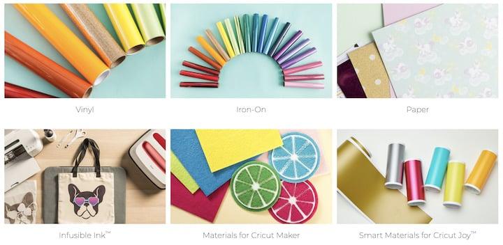 Cricut Materials