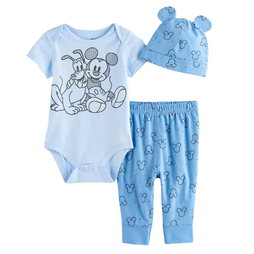 Kohl s Cute Disney 3 Piece Baby Clothing Sets Just $6 79