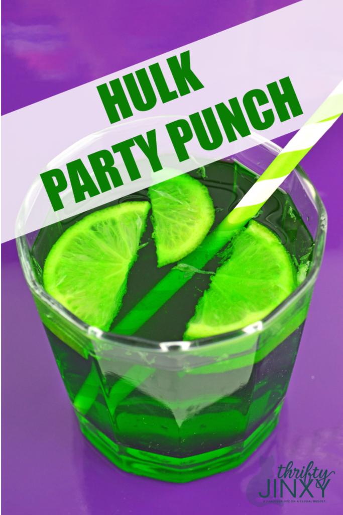 Hulk Punch Recipe