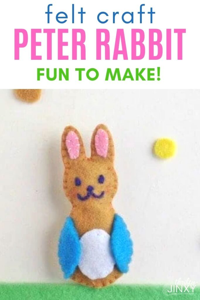 PETER RABBIT FELT CRAFT