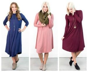 Winter and Spring Dresses from $11.97 + FREE Shipping