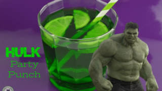 Hulk Party Punch